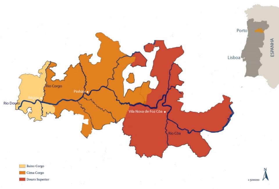 Sub-Regiões do Douro